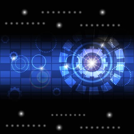 technology, background, abstract, vector Illustration