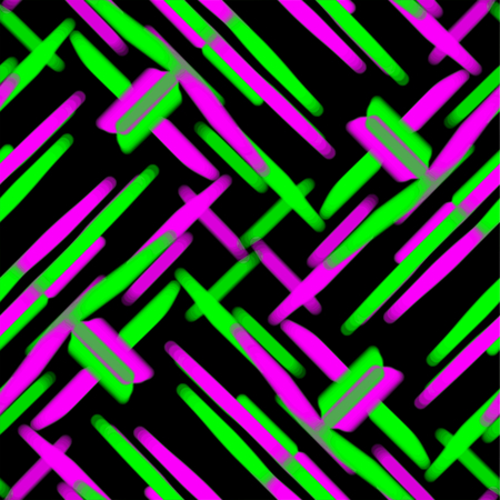 Pattern tile, ornate geometric pattern and abstract colored background Stockfoto