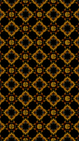 Ornate geometric pattern and abstract multicolored background Stockfoto