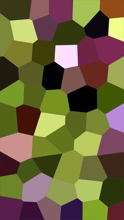 Artful digitally created and colorful background in mosaic style