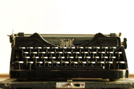 screenwriter: vecchia macchina da scrivere Archivio Fotografico