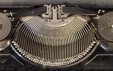 screenwriter: vecchia macchina da scrivere - grin