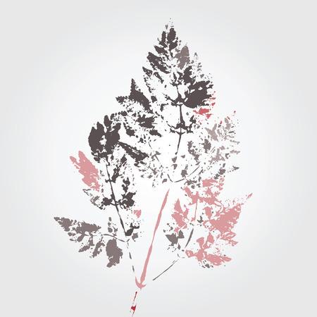 folha: Árvore estilização vetor folha com elementos de cor