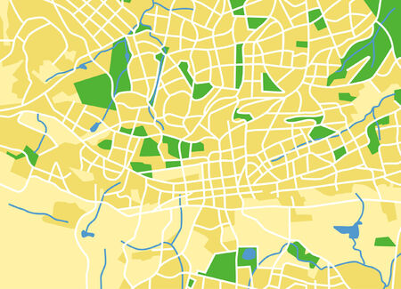 locality: Vector pattern city map of Johannesburg, South Africa. Illustration