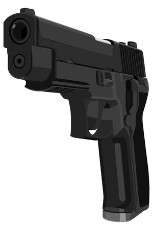 gun shot: pistol  Illustration