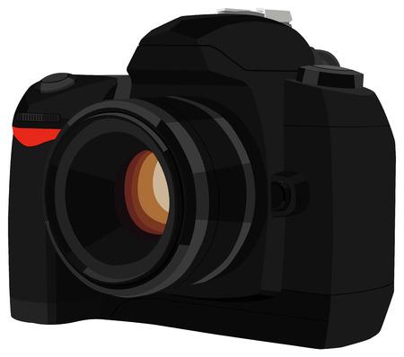 len: camera Illustration