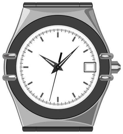 layered of watch Stock Vector - 6629489
