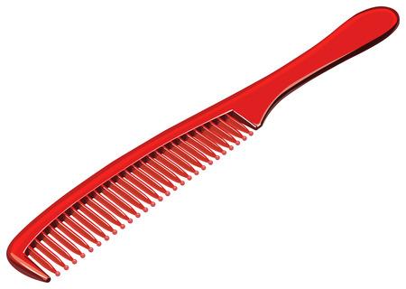 hairbrush: comb