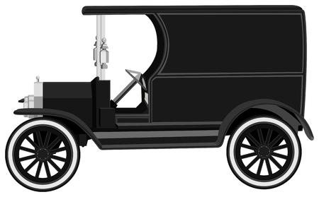 antique car Illustration