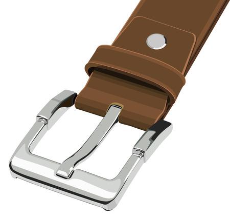 buckle: Belt buckle