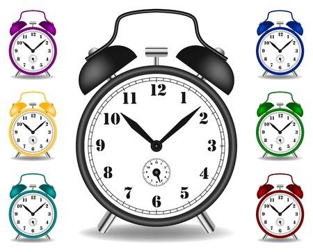 Illustration of alarm clock Vector