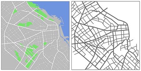 buenos aires: Abbildung Stadtkarte anzeigen