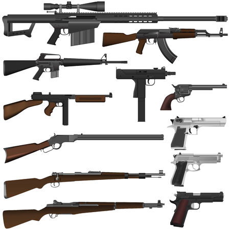 pistool Vector Illustratie