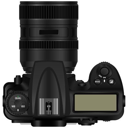 len: Layered illustration of camera