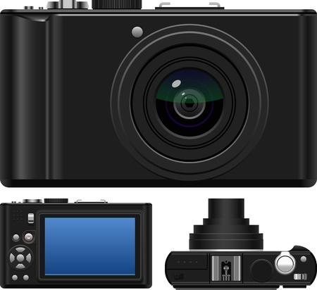 len: Layered vector illustration of Camera Illustration