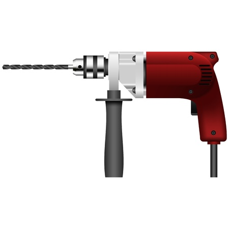 gimlet: Layered vector illustration of Drill.