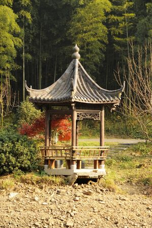 the gloriette: Picture of a chinese traditional gloriette
