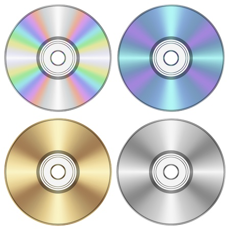 Layered vector illustration of CD  Stock Vector - 19261162