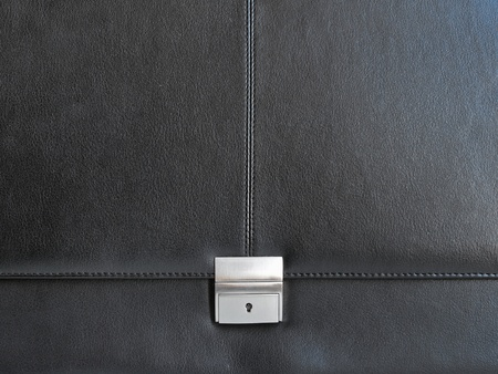 black briefcase: Textura malet�n Negro