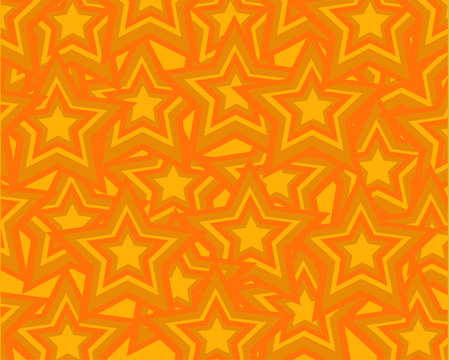 a set of orange stars connected to each other