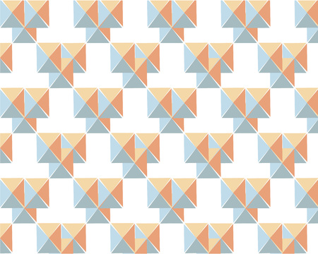 pattern with triangles on white background. for textiles, screensavers, typography, posters Фото со стока