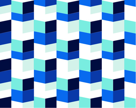 Geometric and modern vector art in different shades of blue. light blue chessboard background design vector illustration. Eps10 abstract squares of one size, different color
