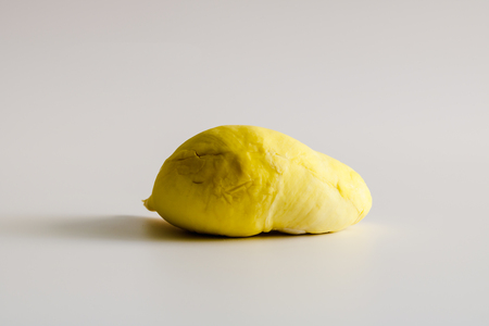 Durian on white background, Close up.