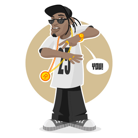 Negro chico - rapero
