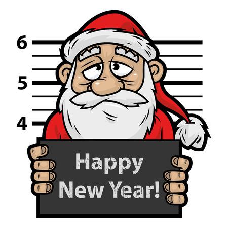 Santa Claus prisoner 免版税图像 - 22900378