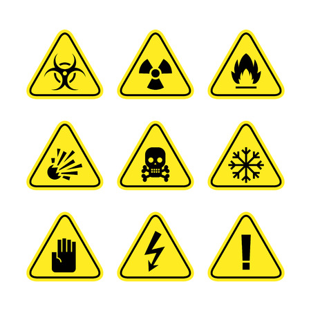 Warning signs of danger Stock Vector - 22900387