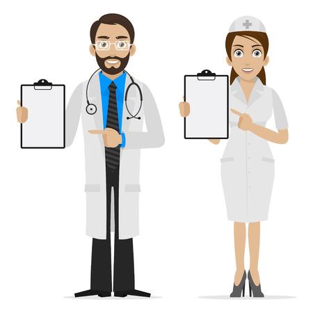 mujer hombre: M�dico y la enfermera se especifica en el formulario