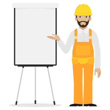 flipchart: Builder points to flipchart