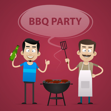 BBQ Party concept