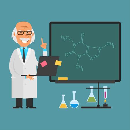 química: Antiguo científico celebración portátil