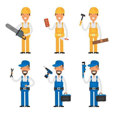 albañil: Set constructor de carácter y reparador