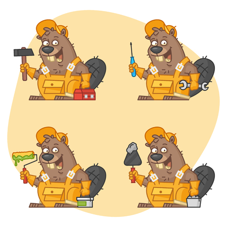 Beaver Master in Different Versions Part 3