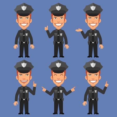 policia caricatura: Indica policía y Espectáculos