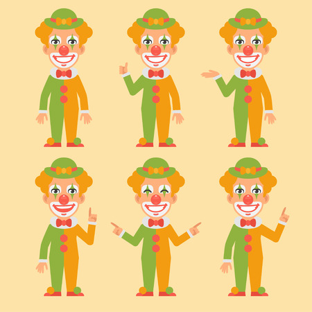 art show: Clown Shows and Indicates