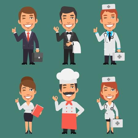 profesiones: Caracteres diferentes profesiones Parte 2