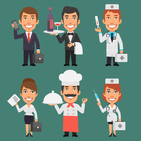 profession: Characters Different Professions