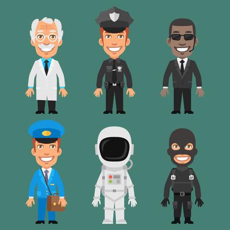 Caracteres diferentes profesiones Parte 6