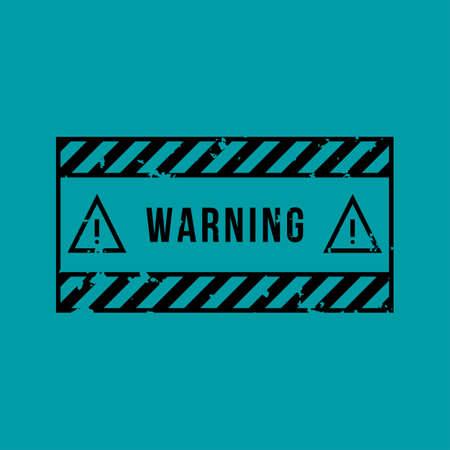 Warning vector sign. Vector icons. Vector Illustration