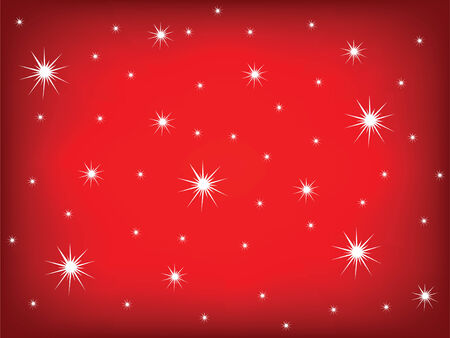 abstract background of christmas star sky Vector