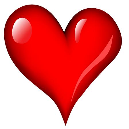 heart vector image Illustration