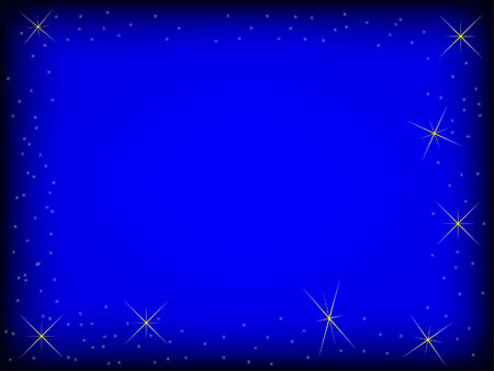 background of  star sky vector image Vector
