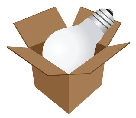 `Lamp in box` icon from `Website & Internet icons` series