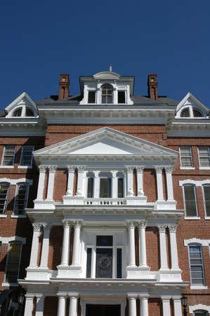 古い病院の建物田園ノースカロライナ州