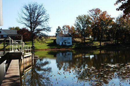 Scene at Murrays Mill in rural North Carolina photo