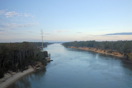 intercoastal: A view of the intercoastal water in North Carolina