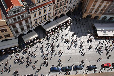 mobs: Peoples, Old Town Square, Prague